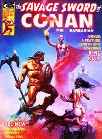 Espada Salvaje de Conan (1975 Revista) 9
