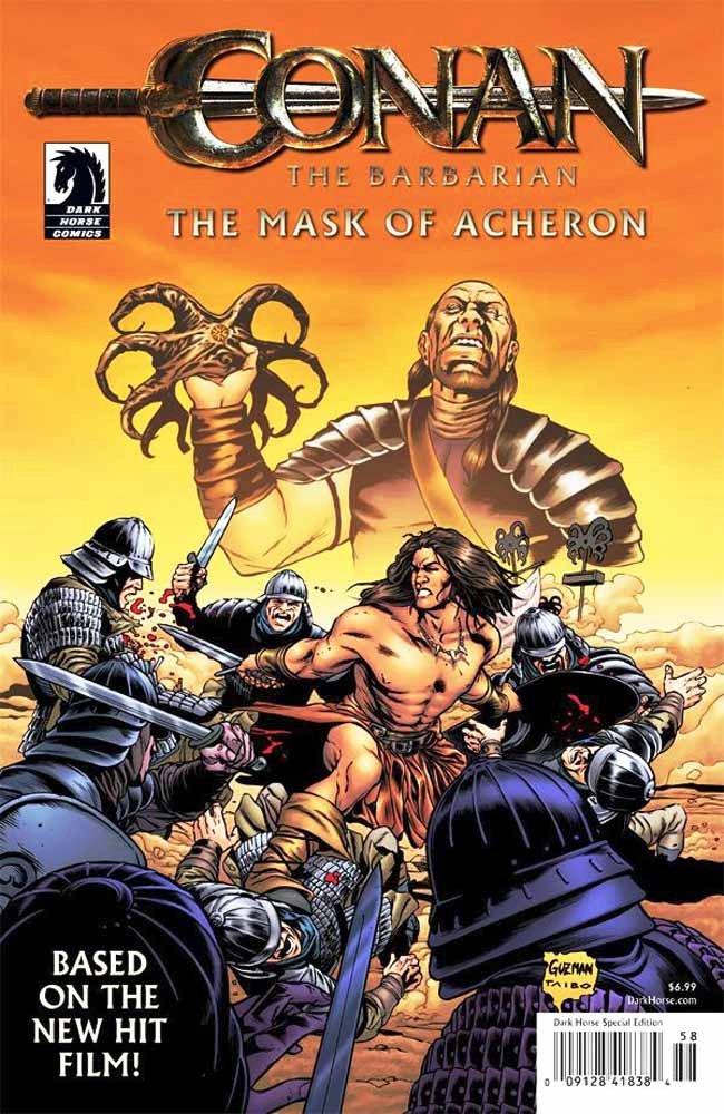 Conan La máscara de Acheron