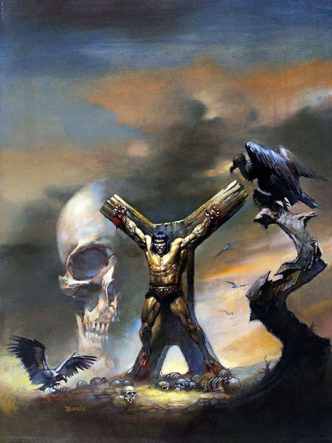 Savage Sword of Conan nº5 Boris Vallejo