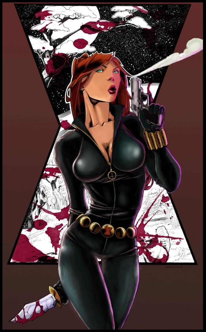 Black widow by logicfun