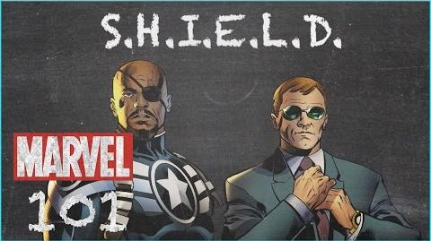 The Top Secret Organization - S.H.I.E.L.D. - MARVEL 101