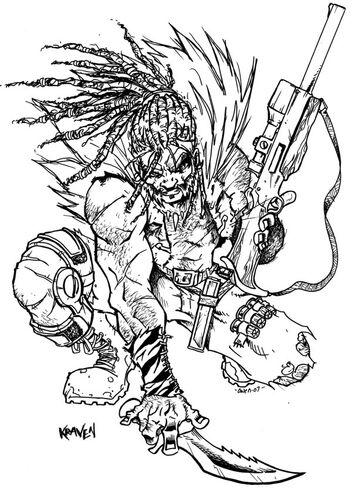 Kraven The Hunter by Dreekzilla