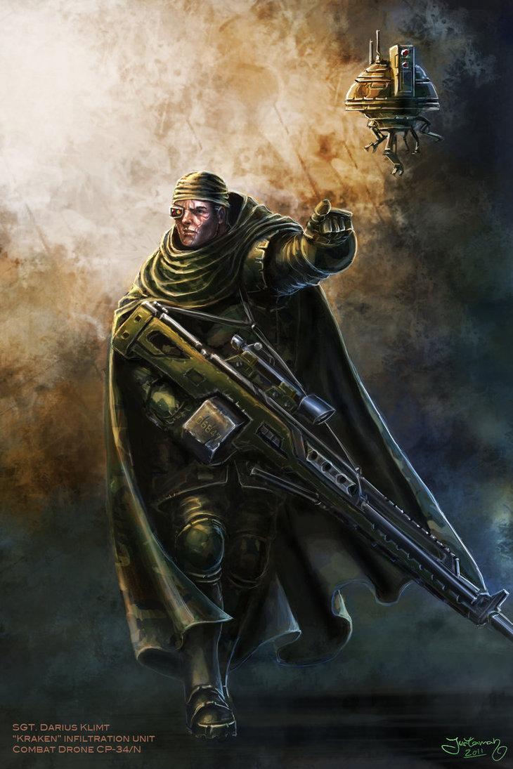 The sniper by justaman78-d38b6om