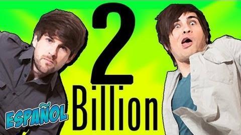 ¡A LA MIERDA! ¡2 BILLONES DE REPRODUCCIONES!