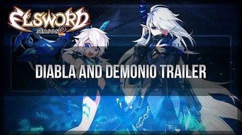 Elsword Official - Luciel Diabla and Demonio Trailer