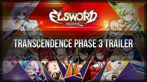 Elsword Official - Transcendence Phase 3 Trailer (Character Version)