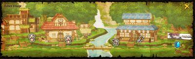 Ruben Town Map