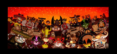 El Tigre villains rule by mexopolis