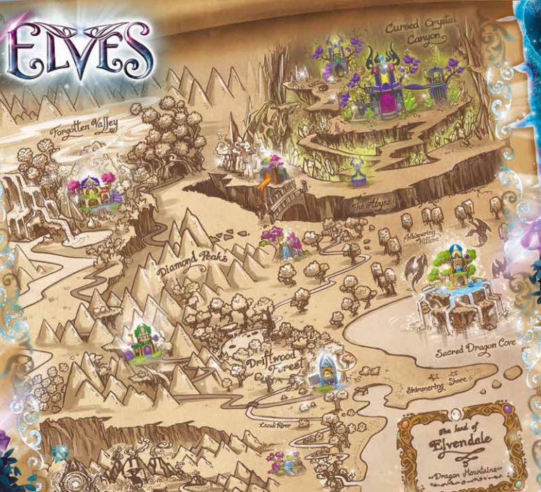 Image - Elves Map 2.png | LEGO Elves Wiki | FANDOM powered by Wikia