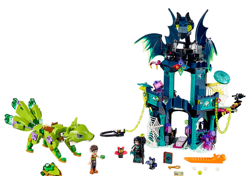 Noctura's Tower and the Earth Fox Rescue   LEGO Elves Wiki   FANDOM ...
