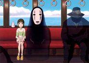 El viaje de Chihiro Sin Rostro