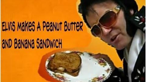 Elvis Presley Makes A Peanut Butter and Banana Sandwich 1977