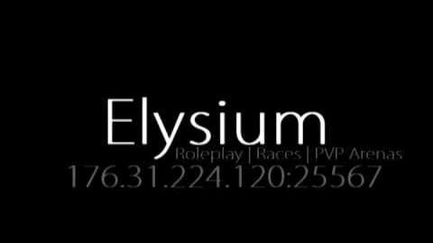 Elysium Roleplay Minecraft Server with No Whitelist 1