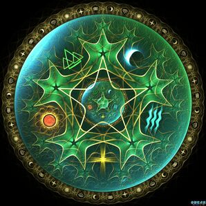 Pentacle by fractist-d3kxwb6