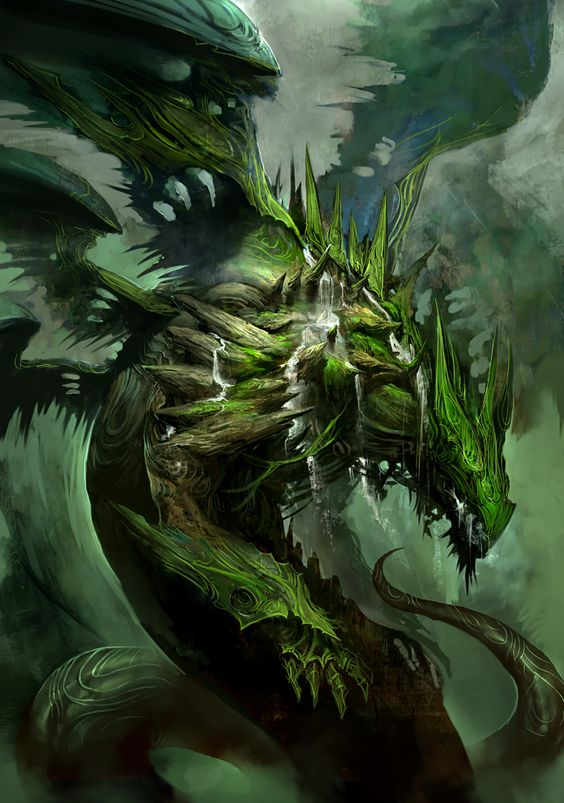 Image result for dragon controlling nature