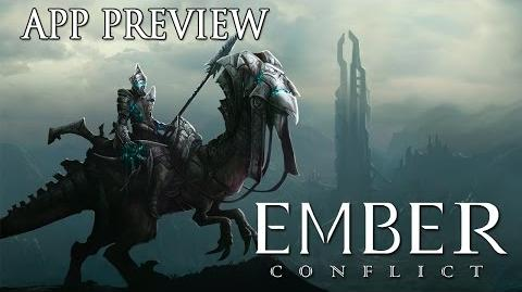 The Ember Conflict - iPad App Preview (Apple App Store)