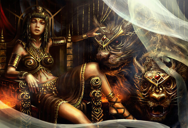 File:Fantasy-Art-Queen-Teefah-and-the-2-Headed-Beast.jpg