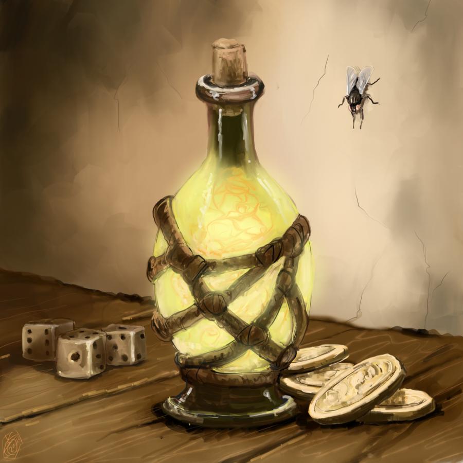 Elixir of Luck (Magic Item)   Renderrs' DnD Resource   FANDOM