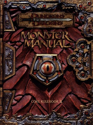 Monster manual 3. 0 d&d 3rd ed noble knight games.