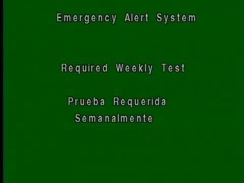 Required Weekly Test | Emergency Alert System Wiki | FANDOM powered