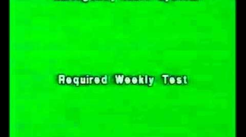 Required Weekly Test | Emergency Alert System Wiki | FANDOM
