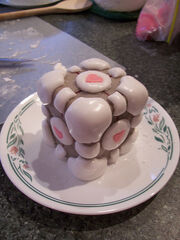 The Weighted Companion Cake...