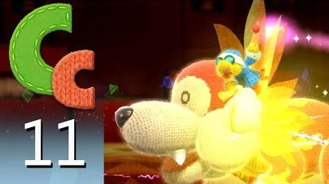 Yoshi's Woolly World – Episode 11 Bunson the Hot Dog's Castle