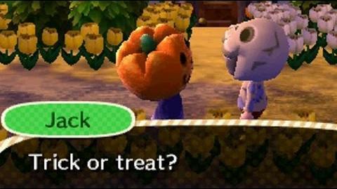 Animal Crossing- New Leaf - Halloween