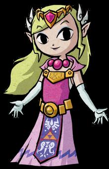 386px-TWW Princess Zelda