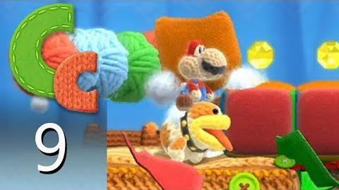 Yoshi's Woolly World – Episode 9 Spiky Stroll
