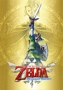 Legend of Zelda Skyward Sword boxart