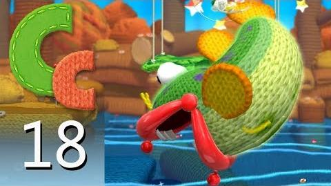 Yoshi's Woolly World – Episode 18 Rollin' Down the River
