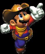 Mario Cowboy Artwork - Mario Party 2