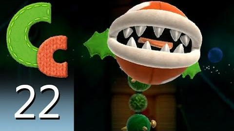 Yoshi's Woolly World – Episode 22 Showing my Navel Piranha