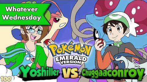 Pokemon Emerald - Yoshiller VS