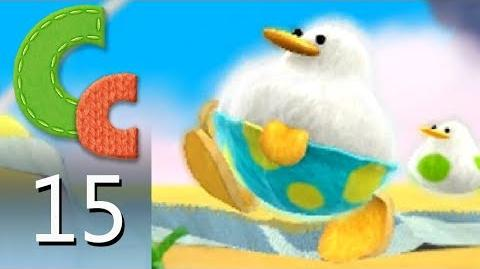 Yoshi's Woolly World – Episode 15 Fluffin' Puffin Babysitting