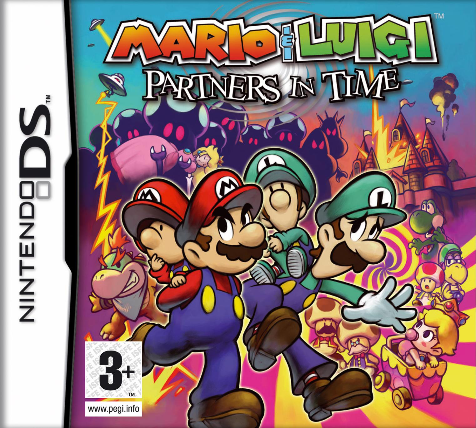 mario und luigi partners in time