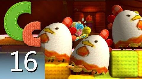 Yoshi's Woolly World – Episode 16 Miss Cluck the Insincere