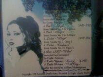Rare Violin Promo CD Backside
