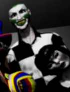 Tall Clown-like Character