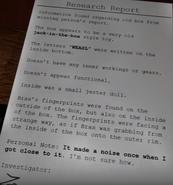 Weasl report