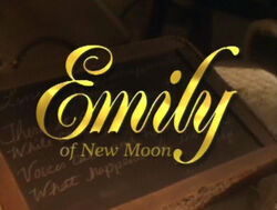 Credit titles Emily of New Moon Canadian television series