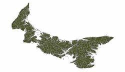 P E I Map