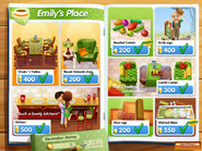 Emily's Return Decoration Catalog