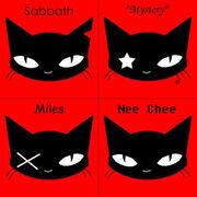 Emily the strange s cats by emziepoodlez-web