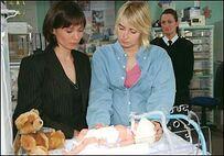 Charity Zoe and baby Noah
