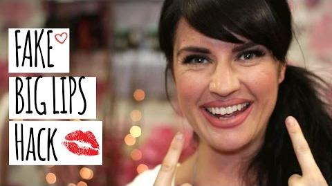 Faking Big Full Lips Kerry's Make-up Hacks