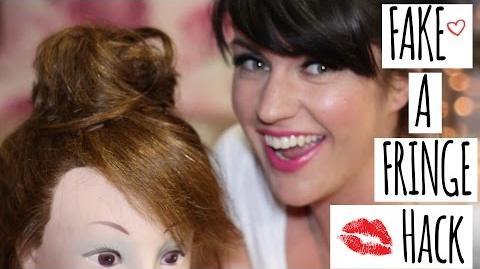Fake A Fringe Kerry's Make-up Hacks
