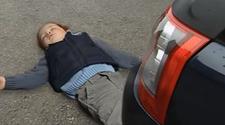 Samson is run over