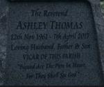 Ashley Thomas gravestone